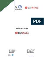 RefWorks - Manual de Usuario