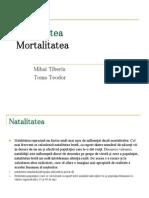 Natalitatea Si Mortalitatea