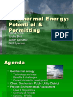 2009 Geothermal Energy
