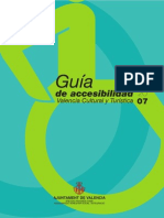 Guia de Accesibilidad de Valencia Espana