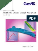 Guidelines for Ultimate Hull Girder Strength Assessment