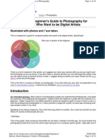 Bernie's Better Beginner's Guide to Photography for