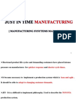 Just in Time Manufacturing SEMINAR