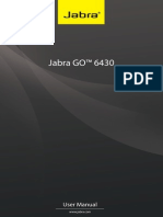 User Manual Jabra GO-6430 En