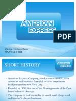 American Express Prezentare