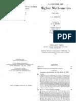 A Course of Higher Mathematics Vol 1 - V