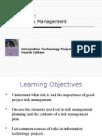 Chap 11 Risk Management
