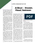 Al Biruni-Ilmuwan Filosof Sastrawan