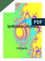 Aproksymacja i Interpolacja