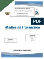 Medios de Transmisión (Trabajo)
