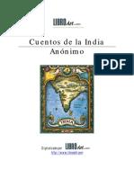 ANON - Cuentos de La India