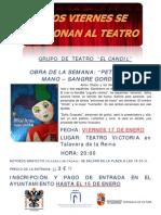 Teatro Victoria Sangre Gorda