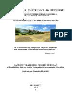 Plan Managerial Fd Universitatea Politehnica Din Bucureti