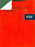 Colli - Sabiduria Griega