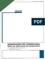 Segregación  de pavimentos por Temperatura