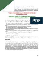 Lopez Pastor v.M. Et Al 2007 Trece Anos de Evaluacion Compartida en Educacion Fisica