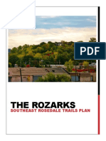 The Rozarks - Southeast Rosedale Trails Plan