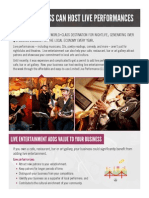 Limited Live Performance Publication