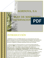 Agrinova, SA - Plan de Marketing