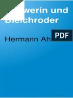 Ahlwardt, Hermann - Schwerin und Bleichroder - Edelmann und Jude (1893)