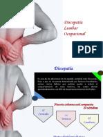 Discopatia Lumbar