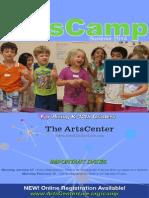 ArtsCamp 2014 Brochure
