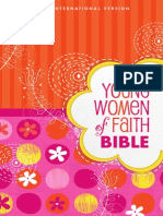 Young Women of Faith Bible, NIV