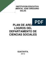 Plan de Estudios Ciencias Sociales Jgs 2012