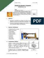E06 Densidad de Solidos y Liquidos