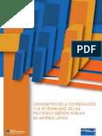 Jefatura de Gabinete - Los desafíos de la coordinación y la integralidad...