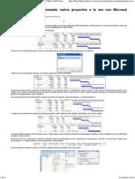 IEDGE – Gestionando varios proyectos a la vez con Microsoft Project