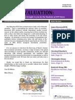 NYU Stern Evaluation Newsletter