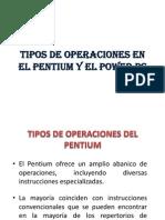 Operaciones en Power Pc y Pentium