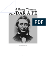 Andar a pé - Henry Thoreau