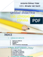 Gómez Vidal, A. et al. 2012 - Las Lenguas de España