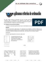 Capitulo 6 Criterios de Ordenacion