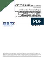 3GPP TS 29.016