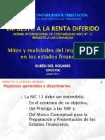 Impuesto a La Renta Diferido - Ruben Del Rosario