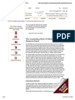 The Leadership Style of Michael Dell Business Essay