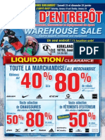 QSM Group Warehouse Sale / Vente d'Entrepôt