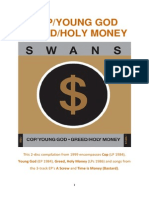 COP / YOUNG GOD / GREED / HOLY MONEY by Swans, reviewed by Pieter Uys