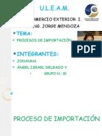 COMERCIO EXTERIOR PROCESO DE IMPORTACIÓN.pptx