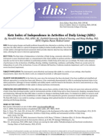 Katz Index Functional Sindrom Down