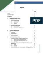 Memoria Descritptiva de Seguridad Valle Blanco III Corregido 15-7-13