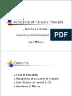 Avoidance of Network Firewalls