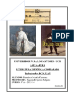 Literatura Comparada - Don Juan