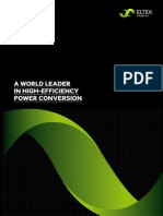 2011 Eltek Corporate Brochure PDF