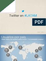Twitter en LATAM