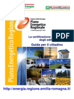 Certificazione Luglio 2013 Emilia Romagna