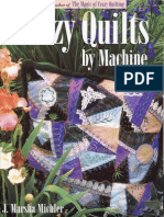 Crazy Quilt by Machine